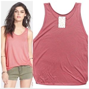 NWT Free People Sedwick Slouchy Tank Top XS